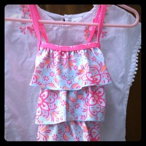 Carter's Baby Girl Swimsuit and Cover up